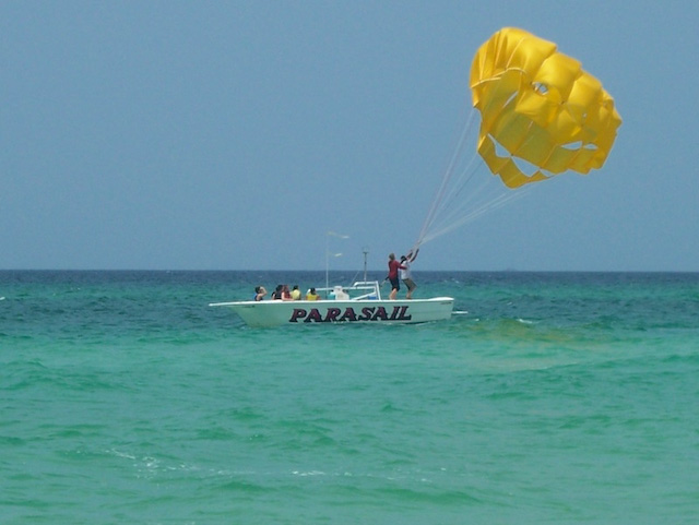 parasailing panama city beach, florida